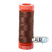 Aurifil 50 Cotton Thread - 2372 (Dark Antique Gold)